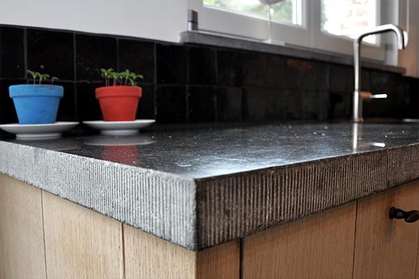 Keuken Blauwe Steen : blauwe steen werkblad